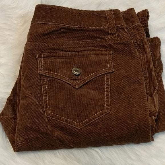 Arizona Jean Company Pants - ARIZONA JEAN CO Brown Corduroy Jeans